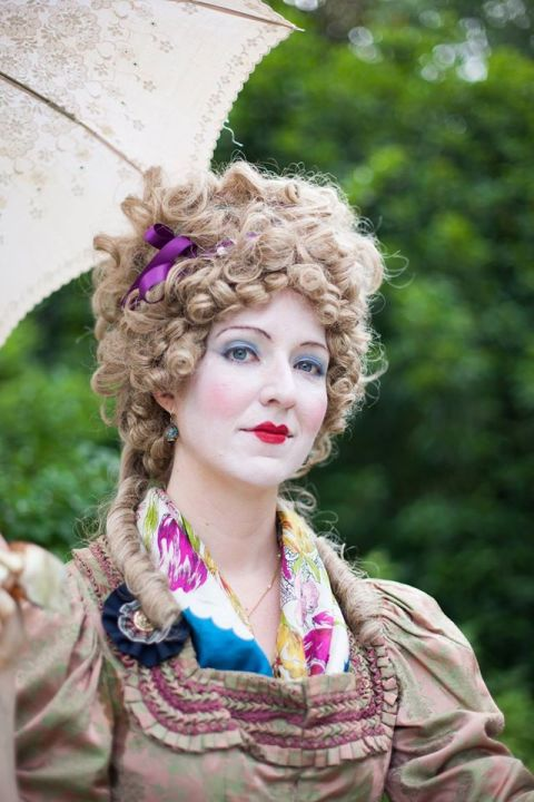 At the Hillwood Museum & Gardens French Festival.  Photo by Les Photos