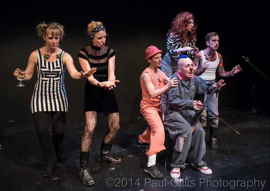 At the 2015 Late Night Fringe Cabaret. Photo by Paul Gillis